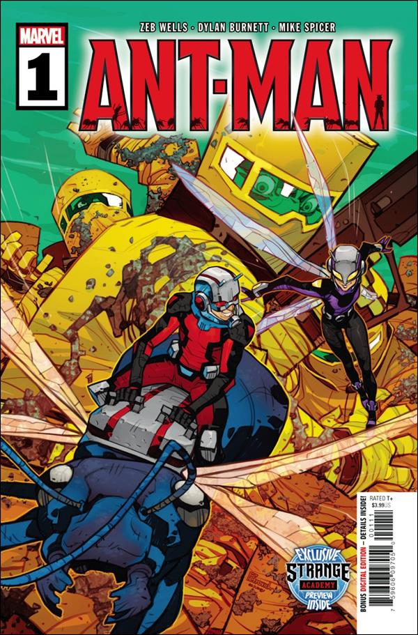 Ant-Man (2020) 1-A by Marvel