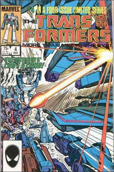 Transformers (1984) 4-A by Marvel