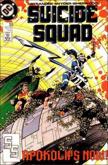 Suicide Squad (1987) 33-A by DC