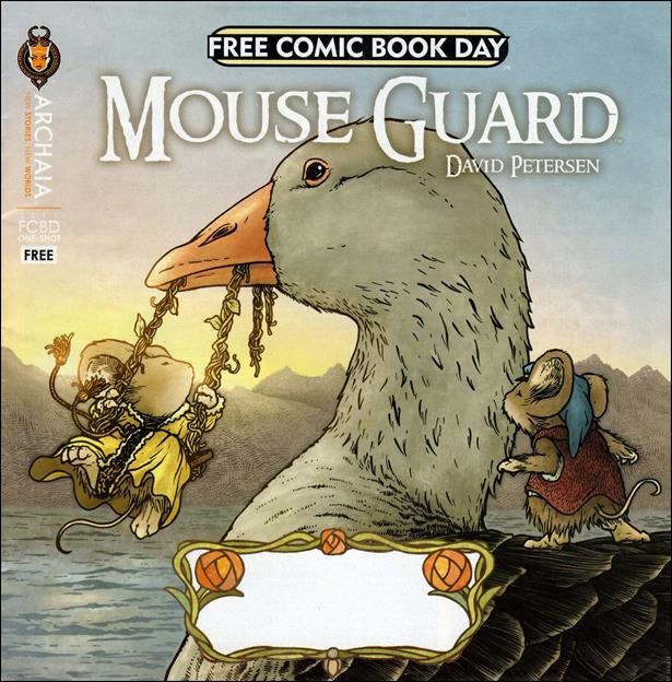 Mouse Guard / Rust Free Comic Book Day 2013 Flip Book nn-A by Archaia