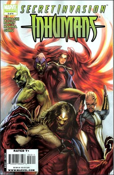 Secret Invasion: Inhumans 3-A by Marvel