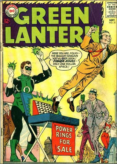 Green Lantern (1960) 31-A by DC