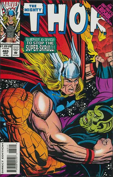 Thor (1966) 465-A by Marvel