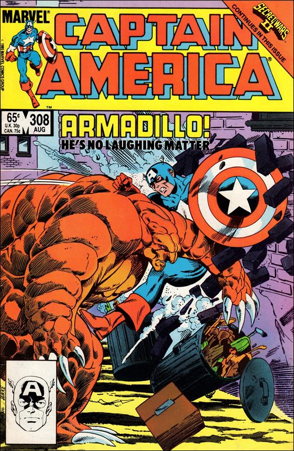 Captain America (1968) 308-A by Marvel