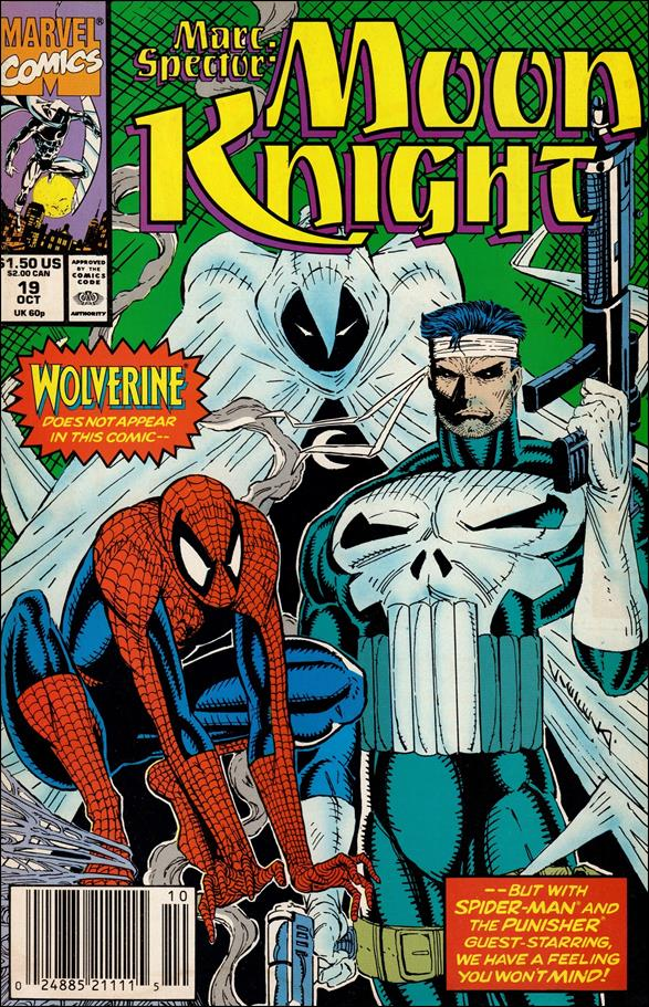 Marc Spector: Moon Knight 19-A by Marvel