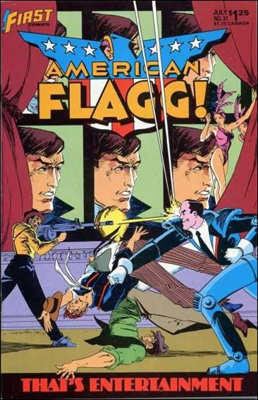 American Flagg! (1983) 31-A by First