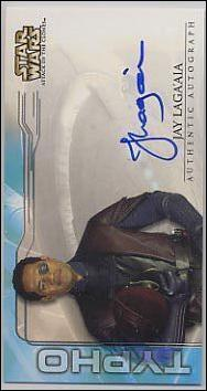 Star Wars: Attack of the Clones Widevision  (Autograph Subset) nn12-A by Topps