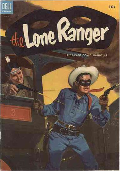 Lone Ranger (1948) 70-A by Dell