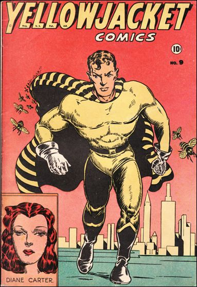 Yellowjacket Comics 9-A by Frank