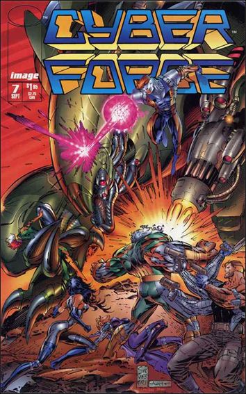 Cyberforce (1993) 7-A by Image