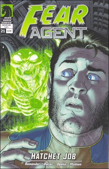 Fear Agent (2007) 21-A by Dark Horse