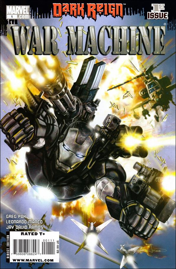 War Machine (2009) 1-A by Marvel