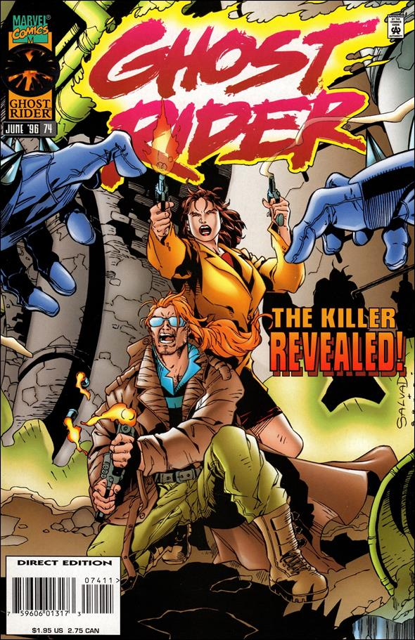Ghost Rider (1990) 74-A by Marvel