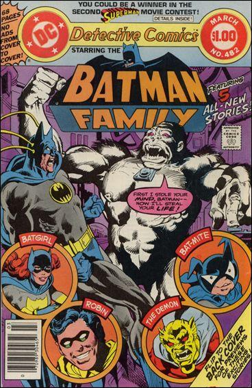 Detective Comics (1937) 482-A by DC