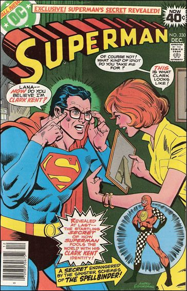 Superman (1939) 330-A by DC