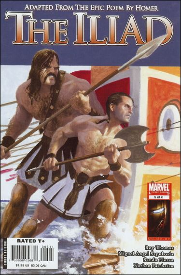 Marvel Illustrated: The Iliad 5-A by Marvel