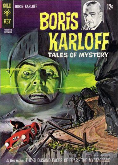 Boris Karloff Tales of Mystery 8-A by Gold Key
