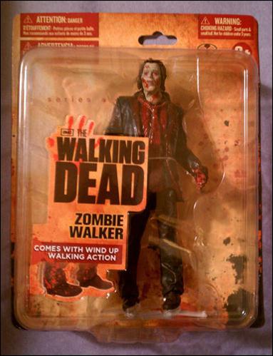 Walking Dead (TV Series 1)  Zombie Walker (Wal-Mart Exclusive) by McFarlane Toys