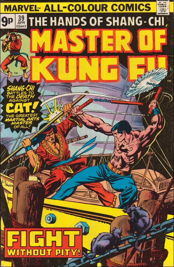 Master of Kung Fu 39-C by Marvel
