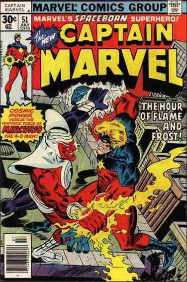 Captain Marvel (1968) 51-A by Marvel