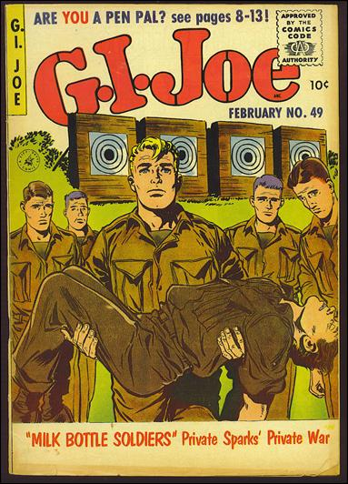 G.I. Joe (1951) 49-A by Ziff-Davis