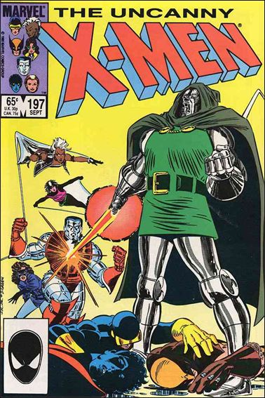 Uncanny X-Men (1981) 197-A by Marvel