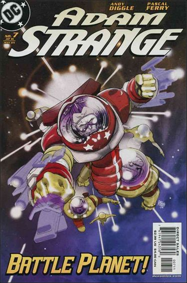 Adam Strange (2004) 7-A by DC