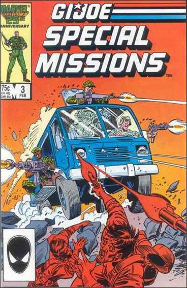 G.I. Joe: Special Missions (1986) 3-A by Marvel