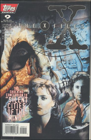 X-Files (1995) 9-A by Topps