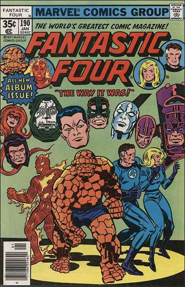 Fantastic Four (1961) 190-A by Marvel
