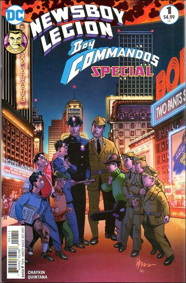Newsboy Legion and the Boy Commandos Special 1-A by DC