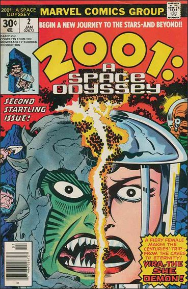 2001: A Space Odyssey 2-A by Marvel