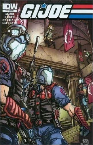 G.I. Joe (2013) 14-B by IDW