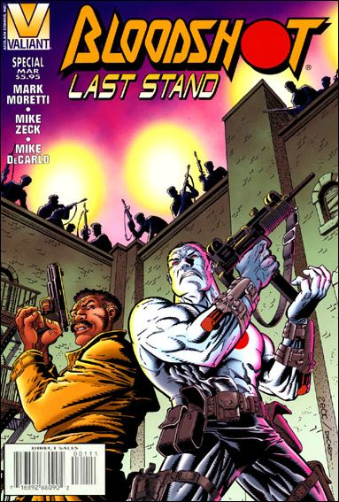 Bloodshot: Last Stand 1-A by Valiant