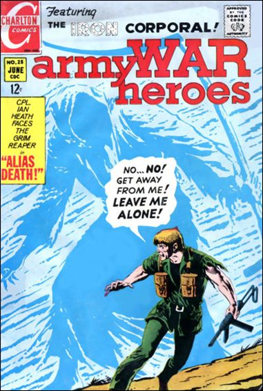 Army War Heroes 25-A by Charlton
