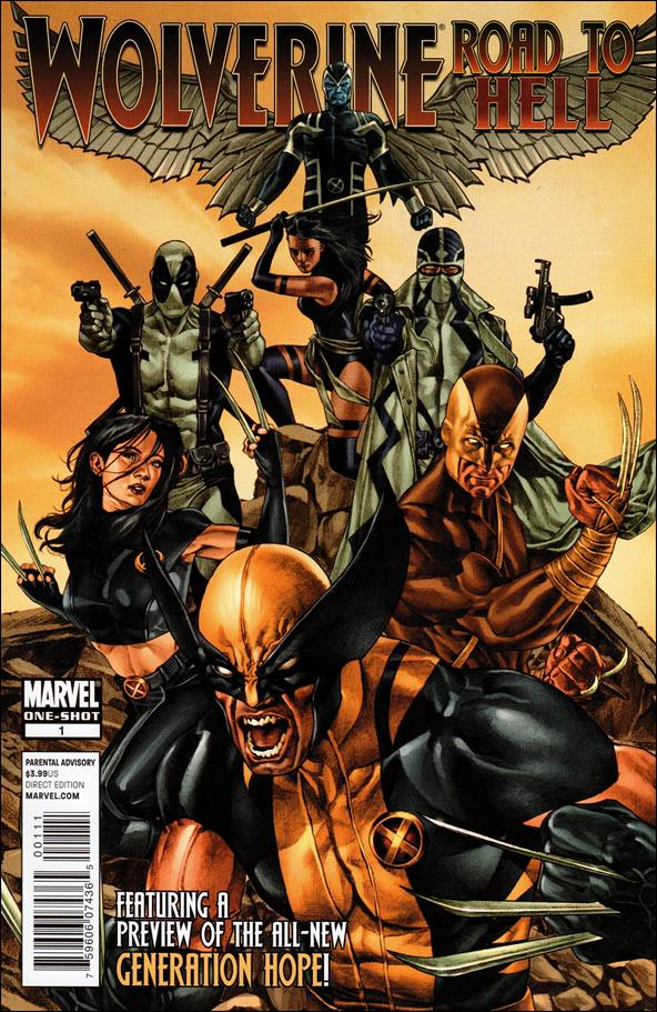 Wolverine: The Road to Hell 1-A by Marvel