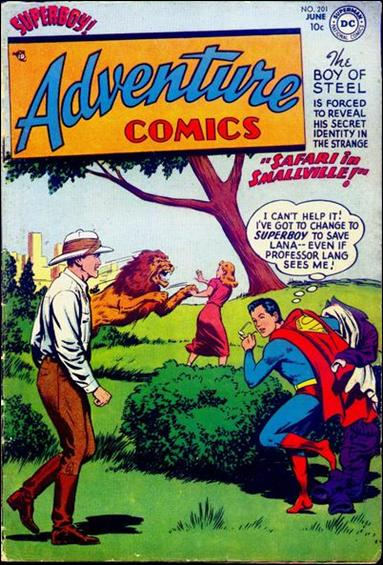 Adventure Comics (1938) 201-A by DC