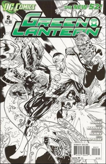 Green Lantern (2011) 2-C by DC