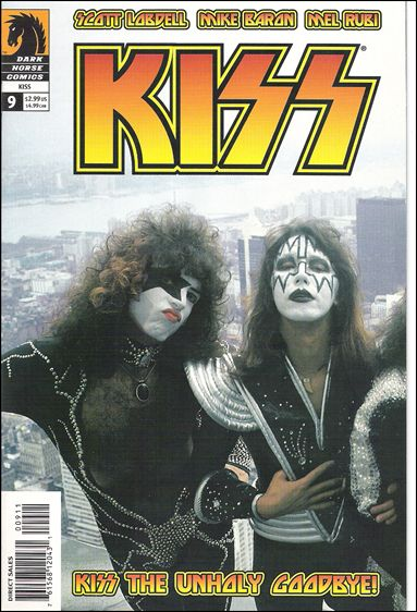 Kiss (2002) 9-B by Dark Horse