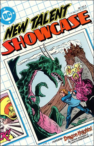 New Talent Showcase (1984) 5-A by DC