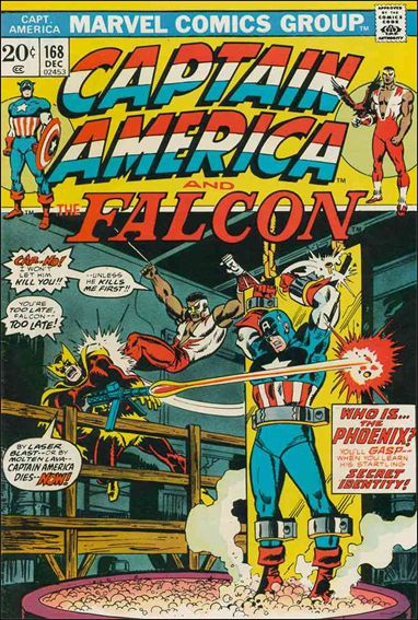 Captain America (1968) 168-A by Marvel