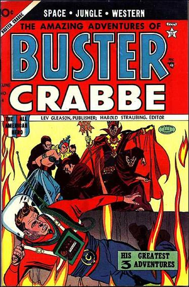 Buster Crabbe (1953) 4-A by Lev Gleason Productions
