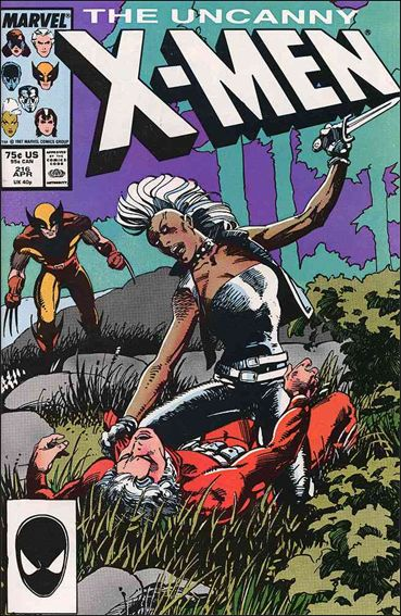 Uncanny X-Men (1981) 216-A by Marvel
