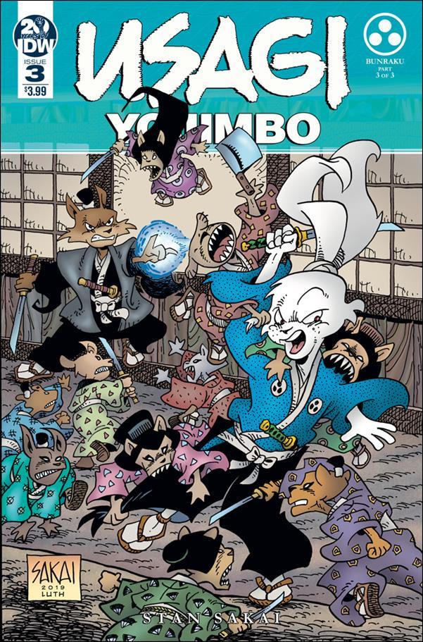 Usagi Yojimbo (2019) 3-A by IDW