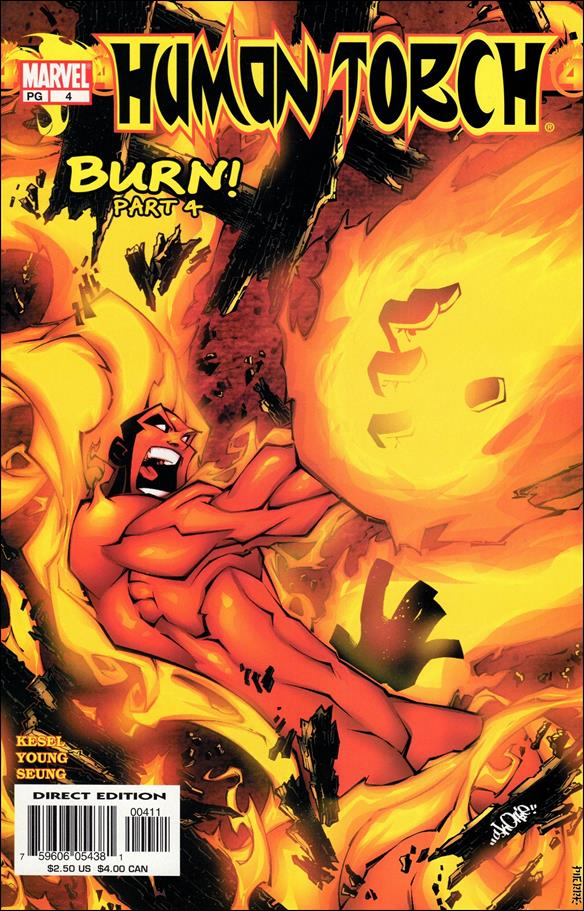 Human Torch (2003) 4-A by Marvel