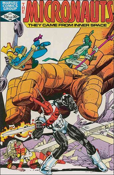 Micronauts (1979) 40-A by Marvel