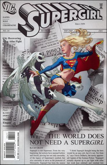 Supergirl (2005) 34-A by DC