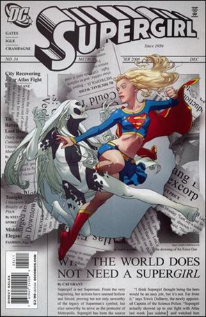 Supergirl (2005) 34-A