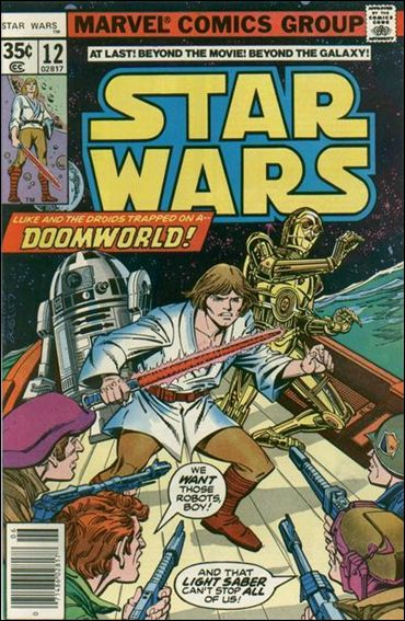 Star Wars (1977) 12-A by Marvel