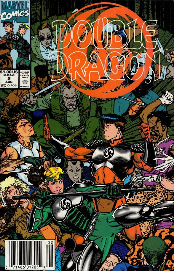 Double Dragon 2-A by Marvel